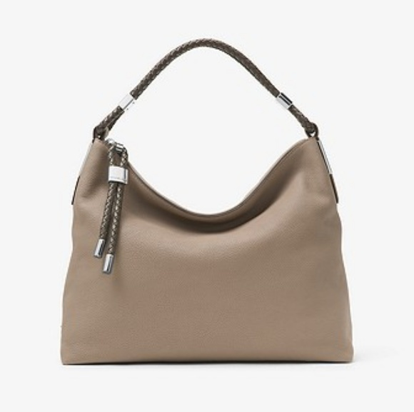 1053f9598526 Michael Kors Bags | Skorpios Pebbled Leather Shoulder Bag | Poshmark